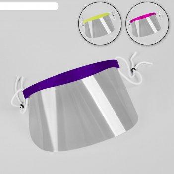 Маска для защиты лица при стрижке чёлки, сменные маски - 50 шт, 9 x 18,5 с