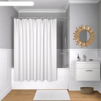Штора для ванной комнаты iddis b36p218i11, 200x180 см, полиэстер