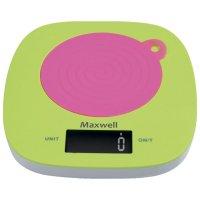 Весы maxwell mw-1465, кухонные, цвет микс