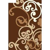 Ковёр карвинг фризе vision deluxe v805, 3*5 м, прямоугольный, brown