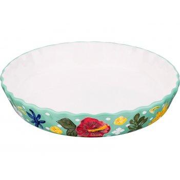 Блюдо для запекания диаметр=27 см. высота=5 см. (кор=12шт.)
