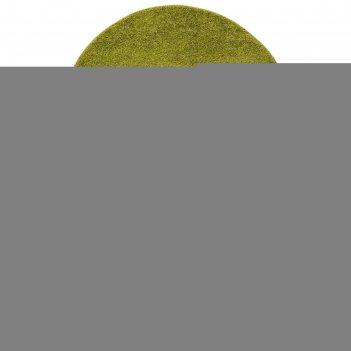 Ковер овальный фризе шегги 100х200 см, sh/o/06, пп 100%