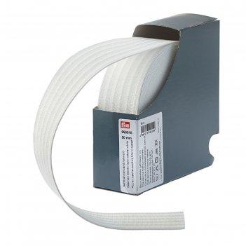 Эластичная лента для уплотнения шва 50мм*10м, цвет белый