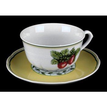 Набор для чая роза 30200(чашка150мл.+блюдце) на 6перс.12пред. низ.