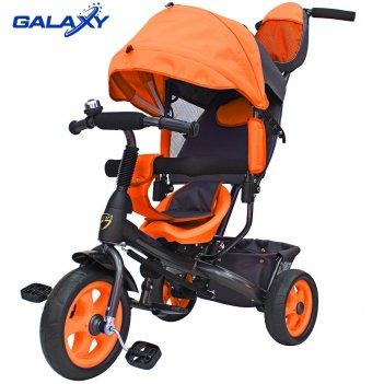3-х колесный велосипед galaxy лучик vivat оранжевый