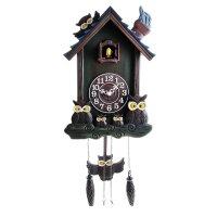 Часы настенные с кукушкой совы