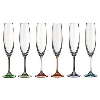 Набор бокалов для шампанского из 6 шт. барбара де...