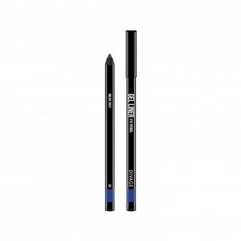 Гелевый карандаш для глаз divage gel liner, тон № 04
