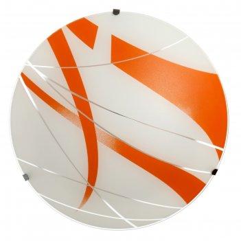 Люстра 1071030450398 275 led 24w 6000к белый/оранжевый 27,5х7см