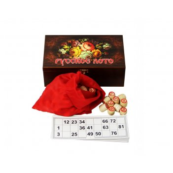 Подарочное русское лото цветы