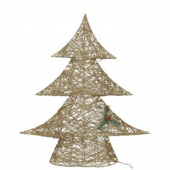 Фигурка декоративная с подсветкой ёлка (работает от сети), 100см