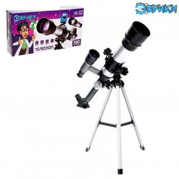 Эврики телескоп юный астроном, увеличение х60 № sl-02609
