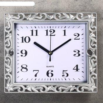 Часы настенные, серия: классика, ирэн, 21х18 см