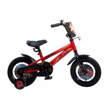 Детский велосипед, disney тачки, колеса 12, стальная рама, стальные обода,