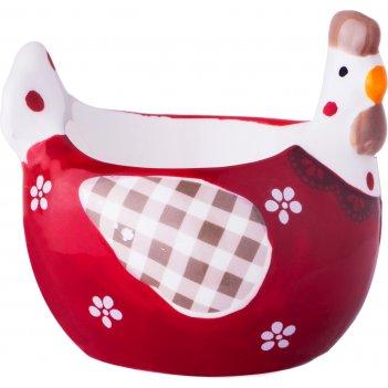 Подставка под яйцо серия кружевная пасха 7*6,3*6...