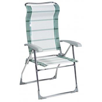Кресло складное шизлонг blues зеленое