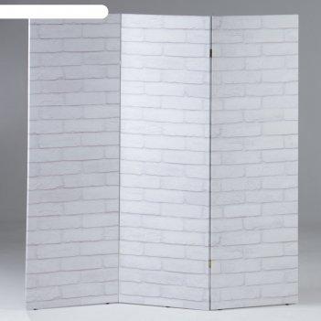 Ширма кирпичная стена, 160 x 150 см
