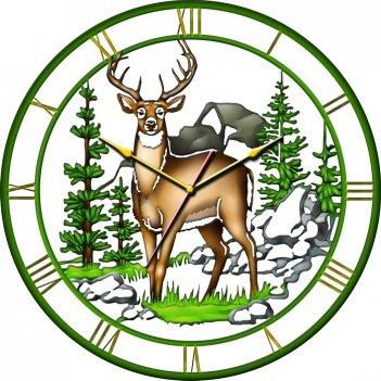 Часы настенные tiarella олень