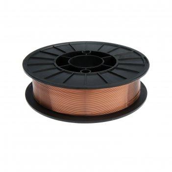 Проволока сварочная ws weldeship er70s-6, d=1 мм, 5 кг