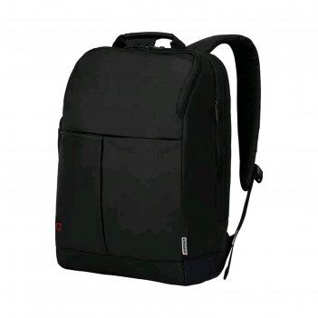 Рюкзак wenger 16, чёрный, 31x18x44 см, 16 л