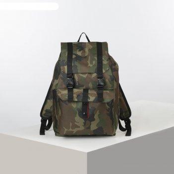 Рюкзак турист универ, 35л, 29*18*43, отд на шнурке, н/карман, камуфляж