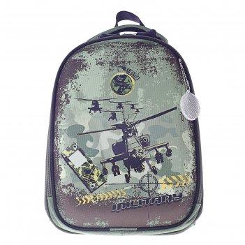 Рюкзак каркасный luris колибри 1 38x28x18 см колибри 1 для мальчика, «верт