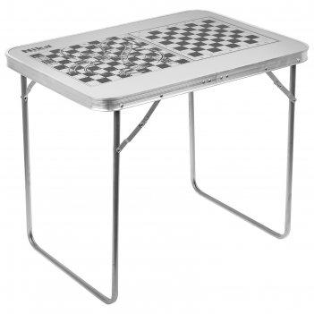Стол складной, сст-5и, 70 х 50 х 60 см, металлик с принтованной столешнице