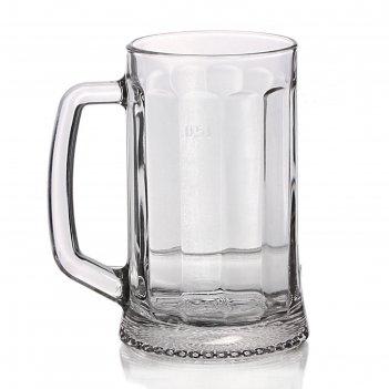 Кружка для пива 500 мл ладья