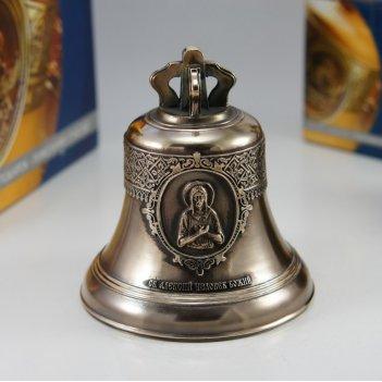 Колокол 1кг святой преподобный алексий, человек божий