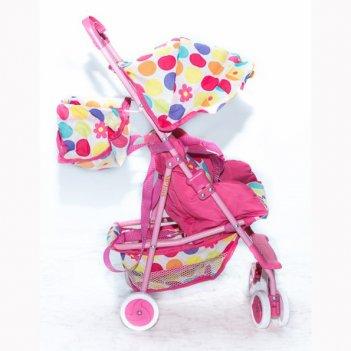 3500 кукольная коляска rt цвет светло-розовый