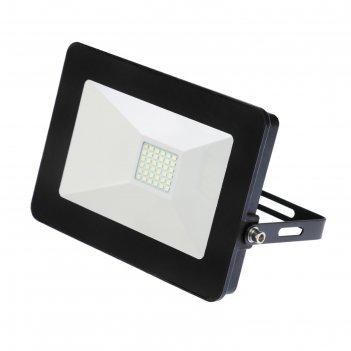 Прожектор светодиодный llt сдо-5-30 pro, 30 вт, 230 в, 6500 к, 2250 лм, ip