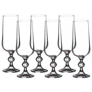 Набор бокалов для шампанского из 6 шт. клаудия 1...