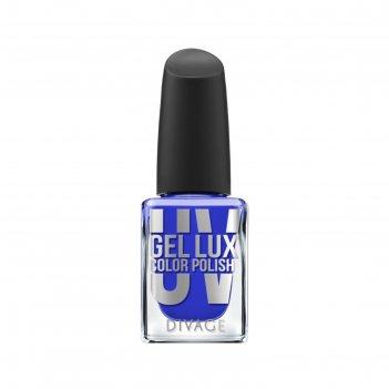 Гелевый лак для ногтей divage uv gel lux, тон №16