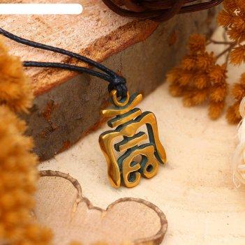 Амулет из ювелирной бронзы чоу (символ долголетия, основа счастливой жизни
