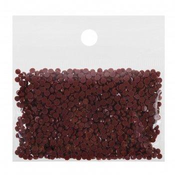 Стразы для алмазной вышивки, 10 гр, не клеевые, круглые d=2,5мм 221 shell