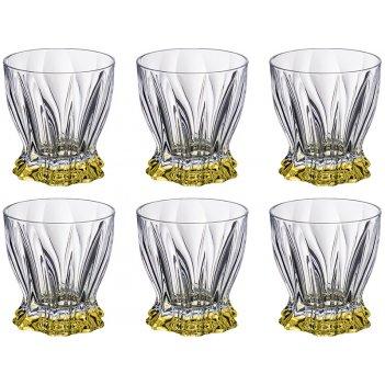 Набор стаканов для виски из 6 шт. plantica 280 мл. высота=10 см.