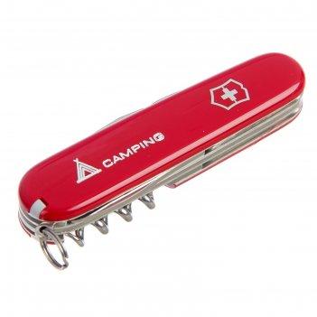 Нож перочинный victorinox camper 1.3613.71, 91 мм, 13 функций