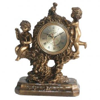 Часы настольные ангелы, l21 w10 h25,5 см