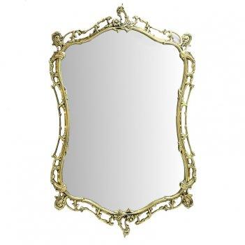 Зеркало бикош в раме, золото
