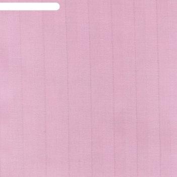 Пододеяльник этель basic 175*215 ± 3см, цв. розовый, страйп-сатин, 125 гр/