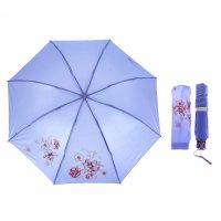 Зонт механический, r=55см, цвет сиреневый