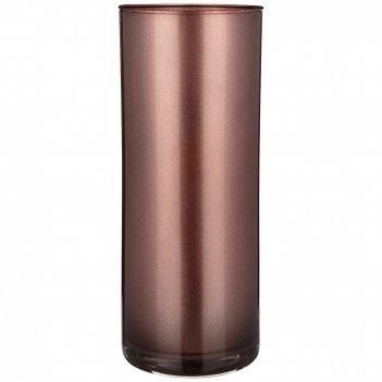 Ваза цилиндр sparkle bronzo  высота 30см диаметр 12см