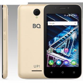 Смартфон bq s-4028 up! gold 2sim, 4,0 tft, 800*480, 8gb, 512mb ram, 5mp+2m