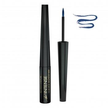 Жидкая подводка для глаз art-visage liquid eyeliner intense, с перламутром