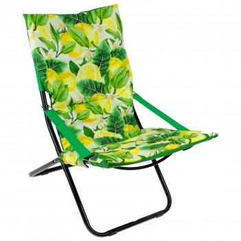 Кресло-шезлонг (hhk4р/l принт с лимонами)