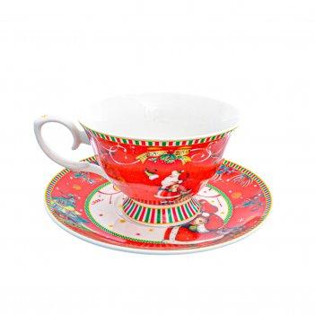 Чайная пара christmas time royal classics