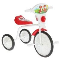 Велосипед трехколесный  малыш  01, цвет: красный