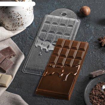 Форма для шоколада шоколад горячий 7х15х10 см