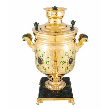 Самовар татарстан (5 литров, угольный, змеевик)