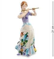 Jp-37/ 3 фигурка девушка с флейтой (pavone)